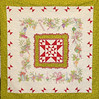 Merry Little Christmas a Crabapple Hill pattern.<br /> Quilt was made by my dad, mom, me and quilted by Kay