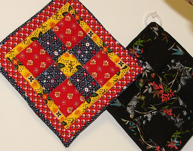 Pot Holders - Judy Gerrish<br /> Class, and Book available