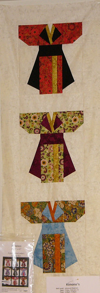 Kimonos <br /> Class and pattern available
