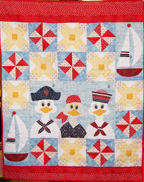 Smooth Sailing- by Floy Herbener<br /> Class,Kit and pattern available
