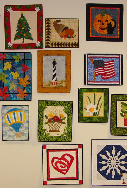 A year of Applique with Corinne Schroeder.<br /> Learn a new technique and make either a wall hanging per month or save them and set them into a quilt.<br /> Class will start in January