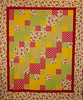 Quilting 202 quilt by Aimee Griffin<br /> <br /> Learn to stack and cut through multi layers of fabric.<br /> and see how easy mitred corners can be.<br /> pattern, and class available