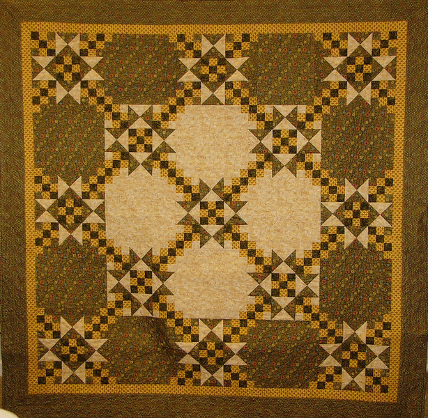 Stars Over St Louise by Corinne Schroeder<br /> Pattern, Kit and class available