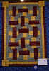 Show Off Pattern<br /> Made by Jessica Griffin <br /> She entered it in the Charlotte Quilters Guild this year and received a blue ribbon.
