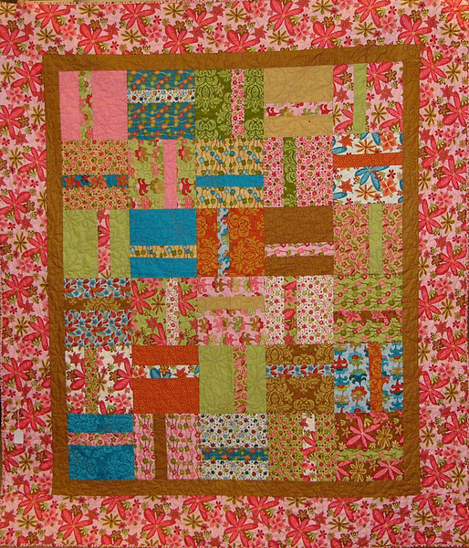 A Piece of Cake by Aimee Griffin<br /> layer cake friendly quilt<br /> pattern and layer cakes available