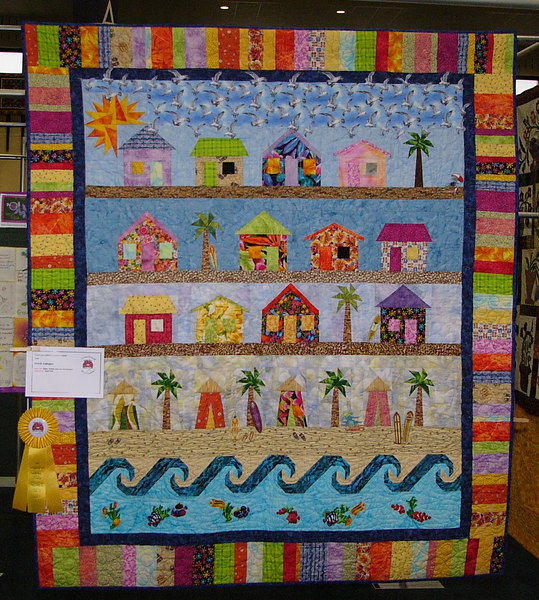 Beach Cottages <br /> Pattern available
