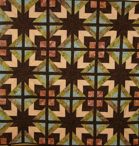 Speedy Stars by Corinne Schroeder<br /> A Quilt as you go technique by Prairie Sky Quilting