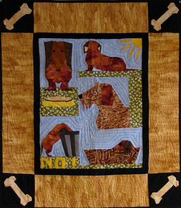 Raffle Quilt, 6 tickets for $5 Proceeds will benefit both the Humane Society, and a new puppy.