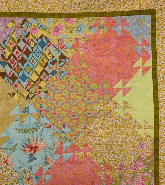 Tesselating Triangles by Aimee Griffin<br /> Class taught by Judy Gerrish