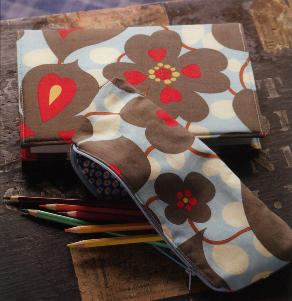 Picasso Pencil Case. Class available as part of the Handmade Club taught by Kim Parker.