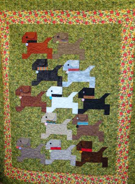 Puppies by Dani Fisk<br /> Patterns available