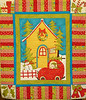 Merry and Bright Wall Hanging by Corinne Schroeder<br /> Kits available