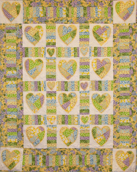 Broken Hearts with Karen Gleiche<br /> Class, kit and Pattern available