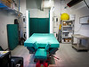 Horse surgery room at Panorama equine serving the Kelowna area as well as Armstrong to Princeton B C