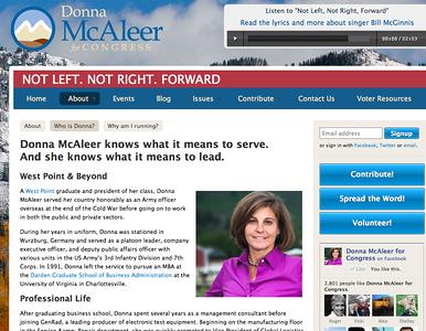 Donna McAleer webpage