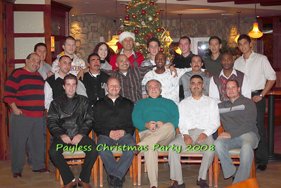 Payless Christmas Party 2008