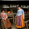 Pilgrim women at Plimoth Plantation.  (Released through Plimoth Plantation), Plymouth, MA.  (c) Tom Croke/Visual Image, Inc.