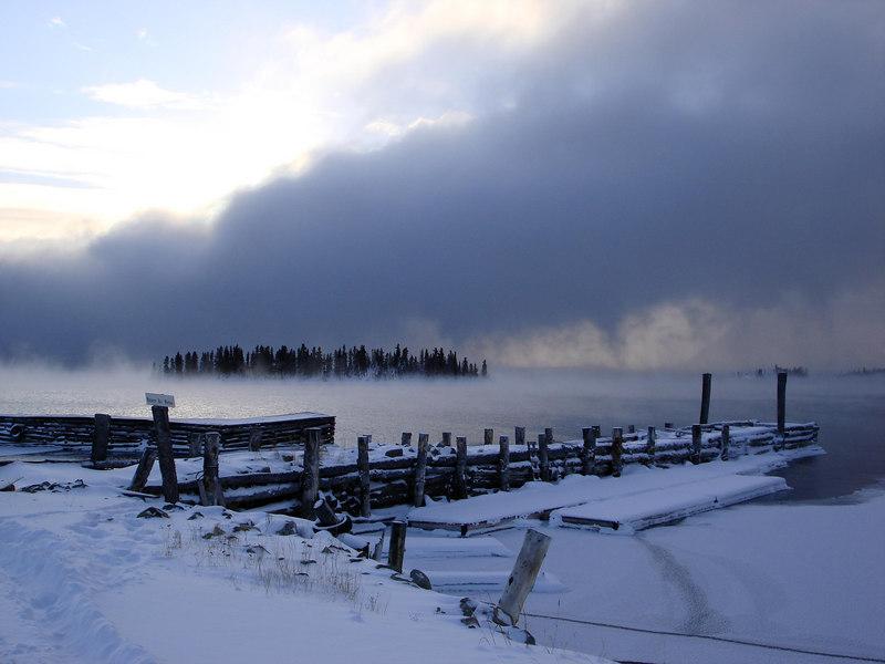 Beautiful Atlin Lake.