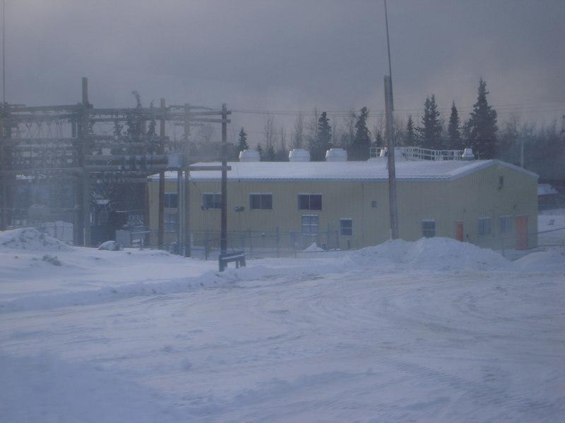 BC Hydro's diesel power plant.