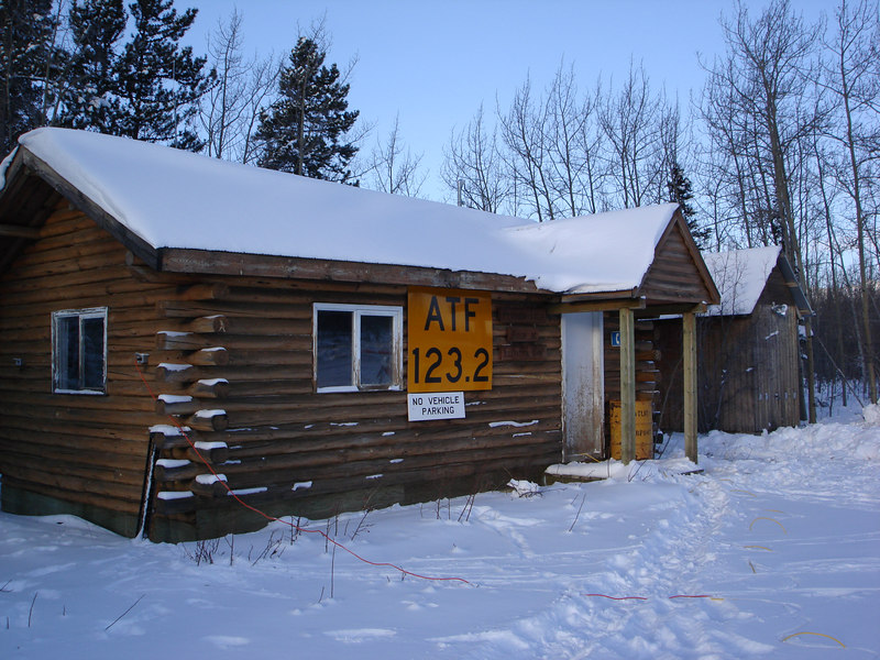 Atlin airport building