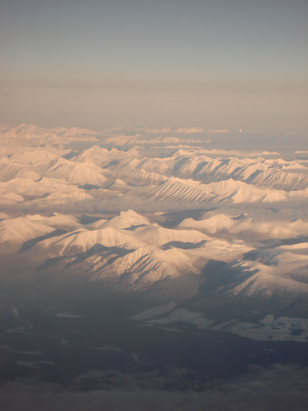Mountains of northern British Columbia