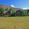 home on snowmass creek and location of stream work.