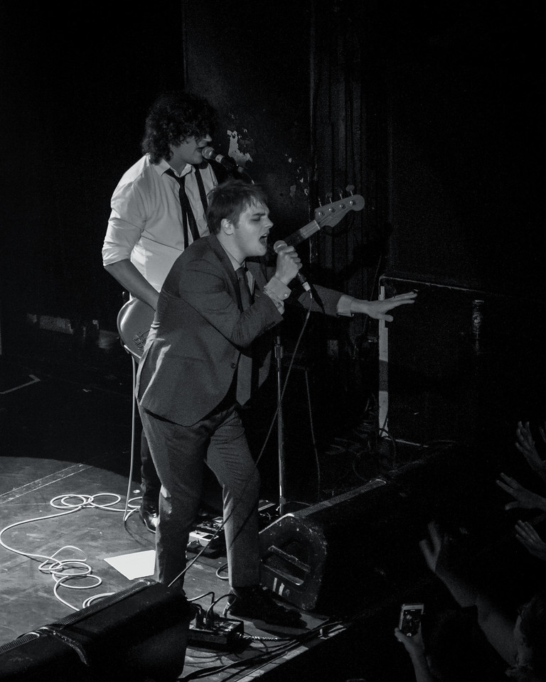 Gerard Way at Irving Plaza, 2014