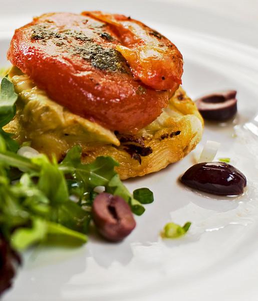 Provencal Vegetable Tart Tartin a