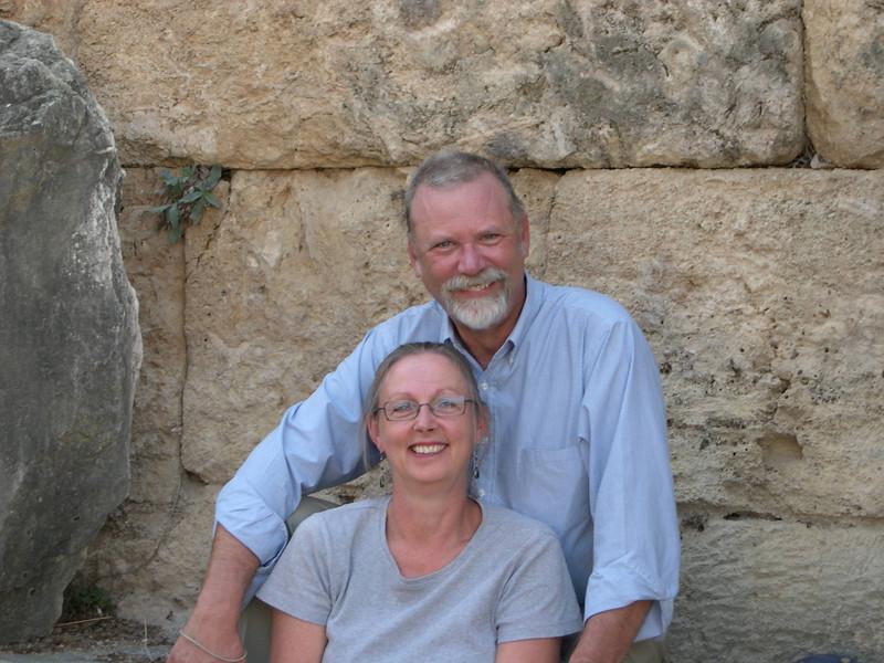 Willem and Miriam Zijp at Perge