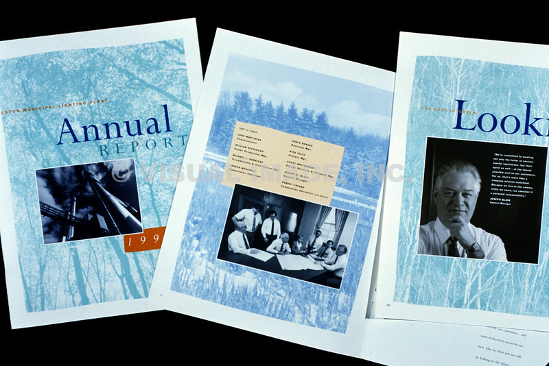 Annual Report - Cover and Interiors