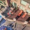 Aerial wider back deck