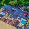 Aerial patio