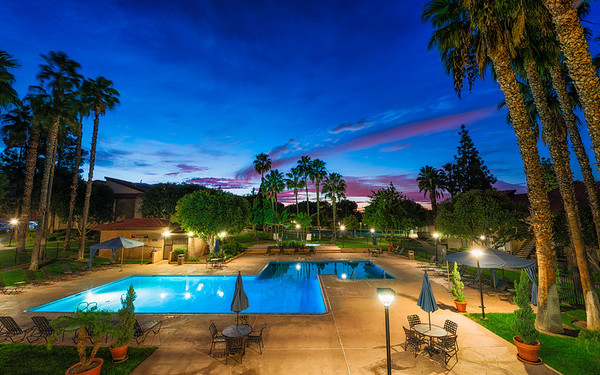 Parcwood Pool Sunset