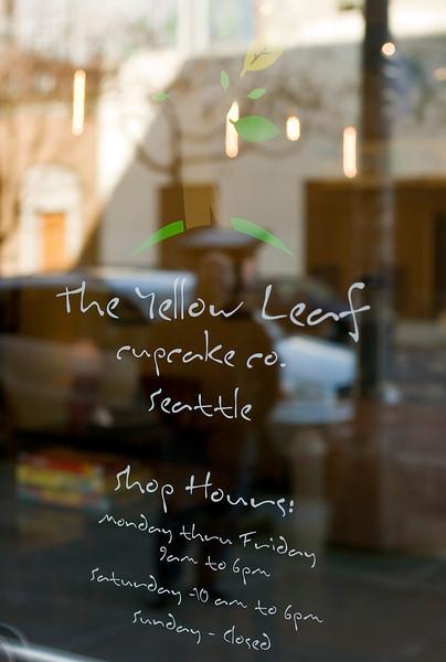 Yellow Leaf Cupcake (Seattle WA)