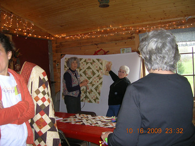 Quilting on the Blue Ridge, October 2009