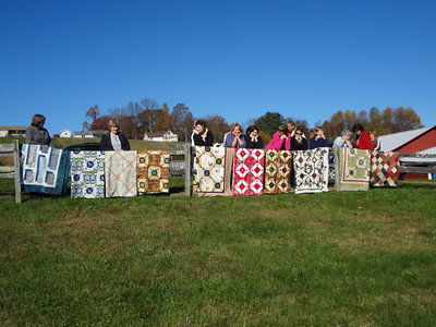 Quilting on the Blue Ridge, October 2011