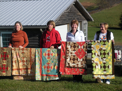 Quilting on the Blue Ridge, October 2008