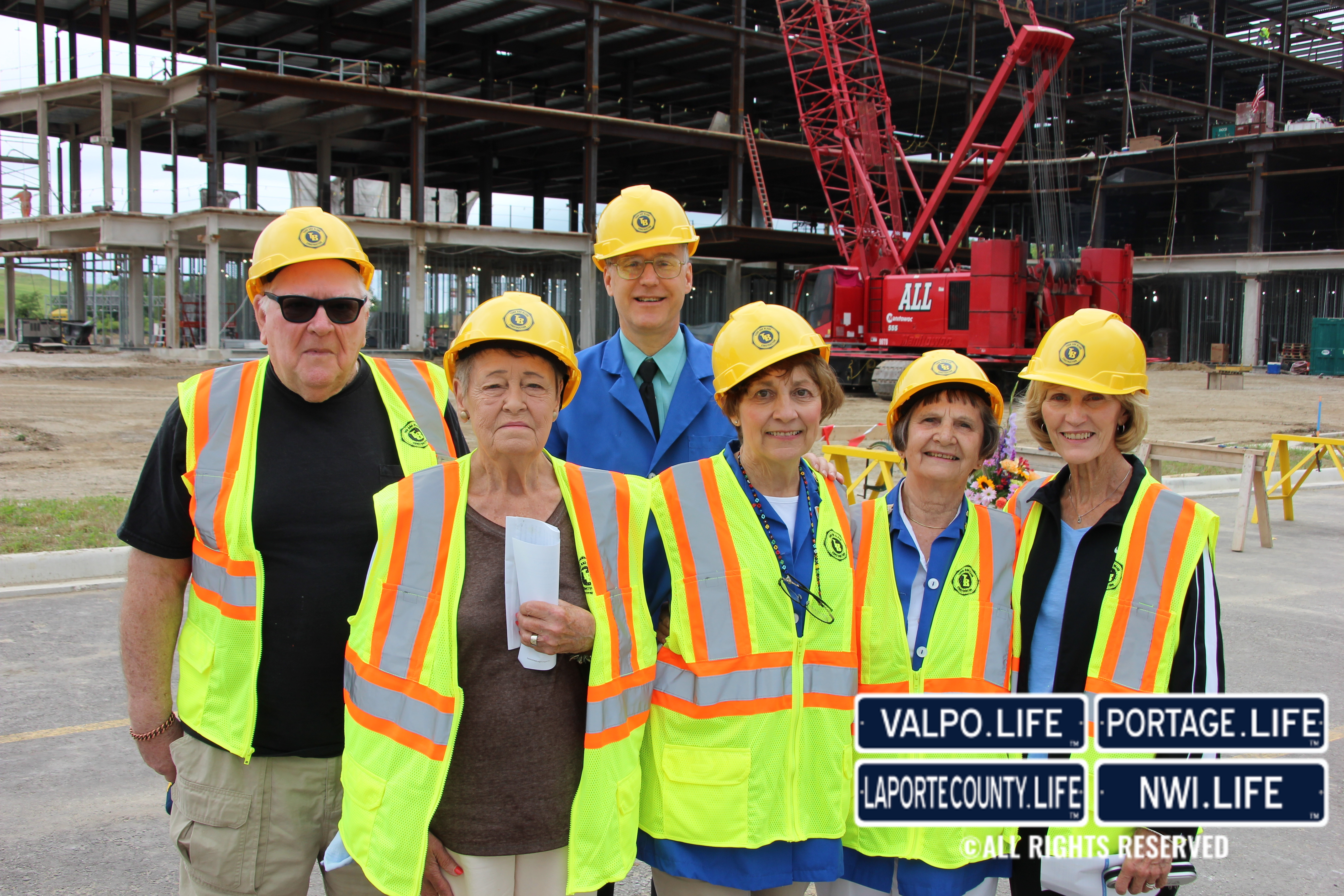 Franciscan Health Michigan City Hospital Topping-Off Ceremony 2017