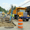 The City of Fitchburg is still working on the sewer separation project on and around Lunenburg street. They where in front of Slattery's on Tuesday. SENTINEL & ENTERPRISE/JOHN LOVE