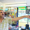 Irfan Ehsan the Clerk at Honey Land Convenience Store on Summer Street in Fitchburg talks about how the road work has affected their business.  SENTINEL & ENTERPRISE/JOHN LOVE
