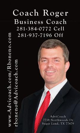 Roger Boneno Business Cards