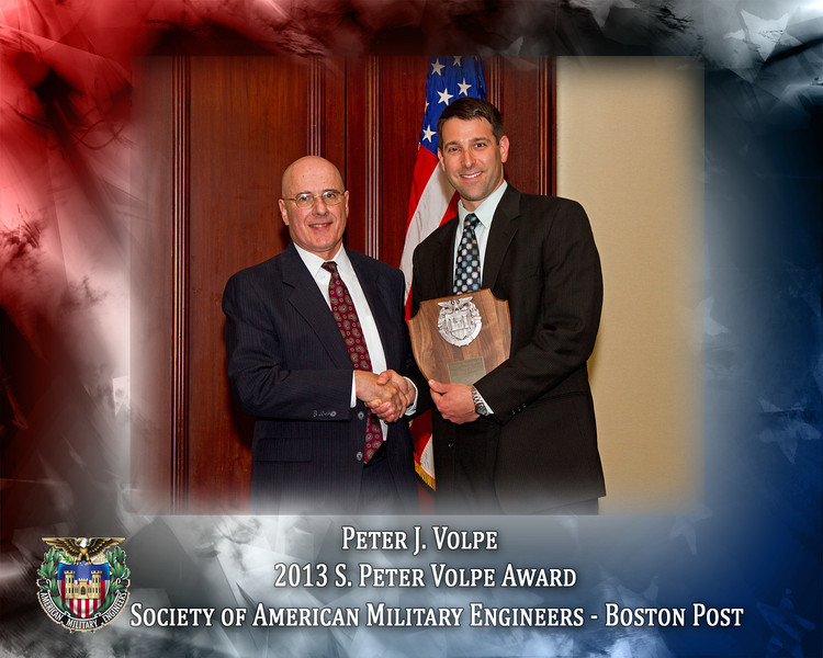 2013 SAME Peter Volpe- Volpe Award_8x10H