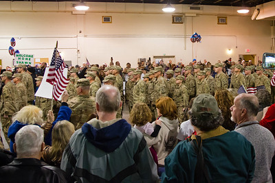 379th Eng Co Welcome Home 12-05-14