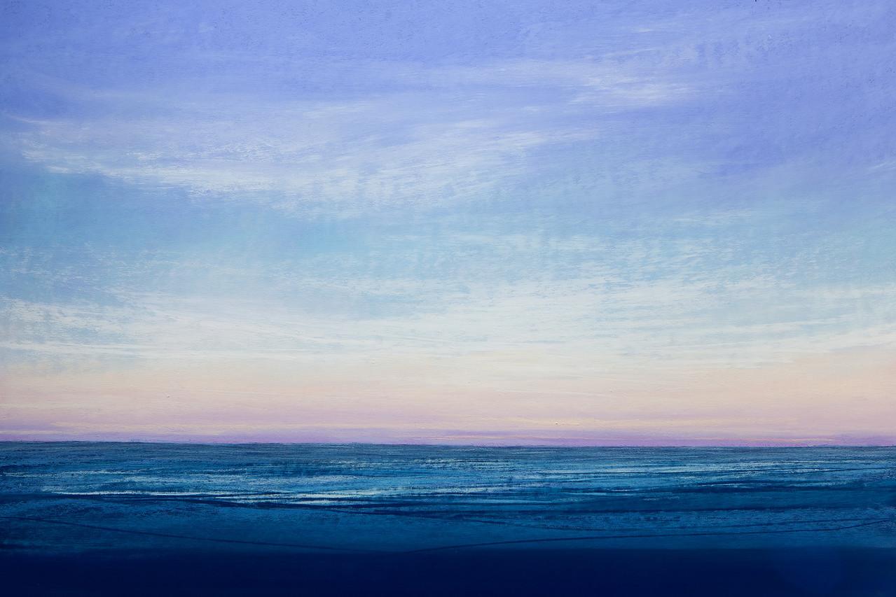 Into the Sea, pastel 22x36