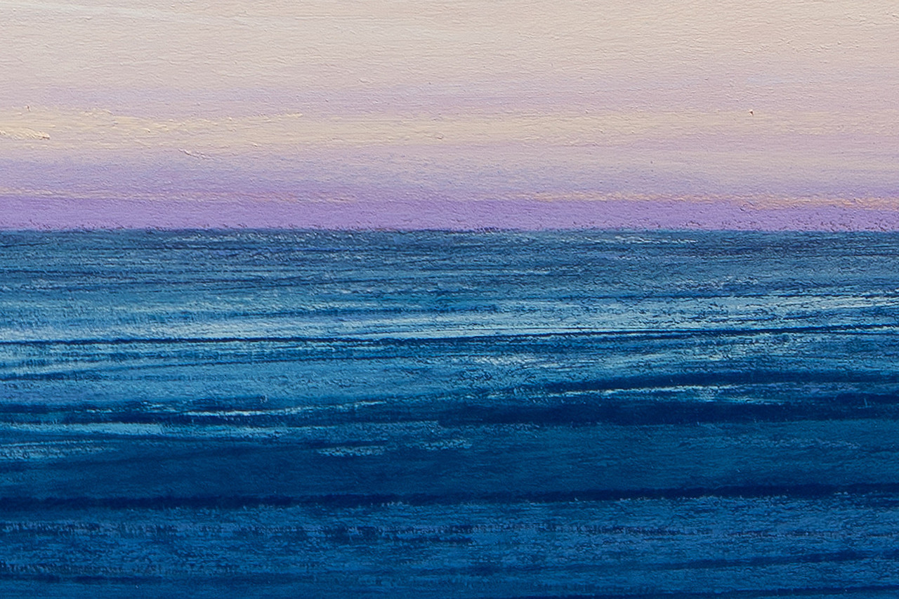 detail: Into the Sea, pastel