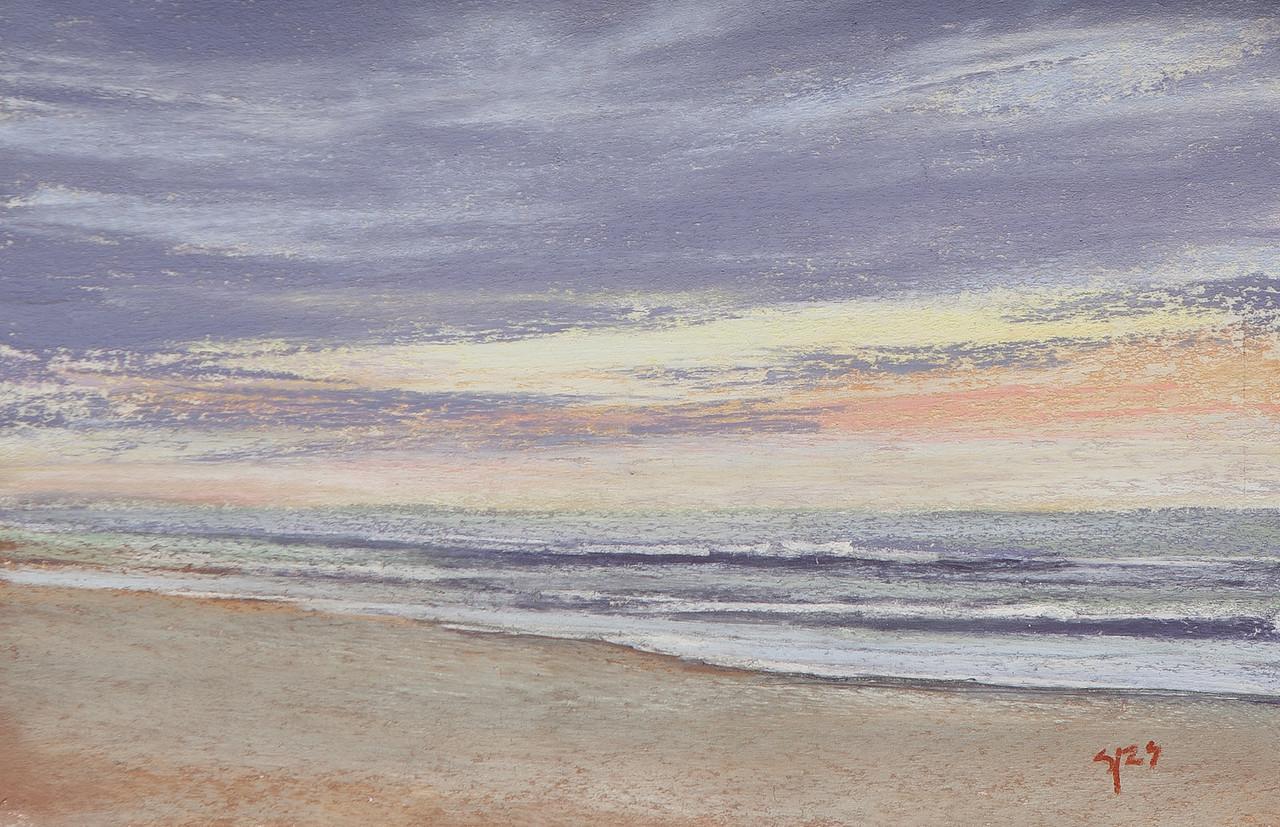 August Morn, pastel 8x12