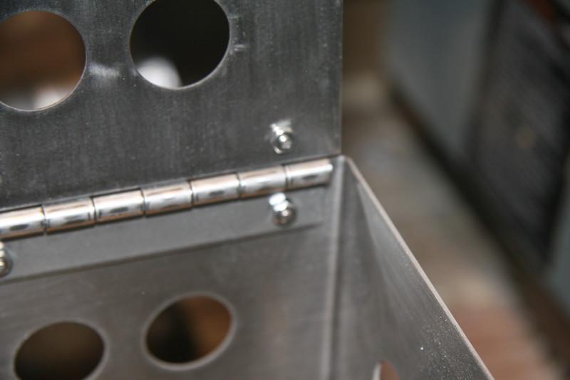 Inside hinge detail.