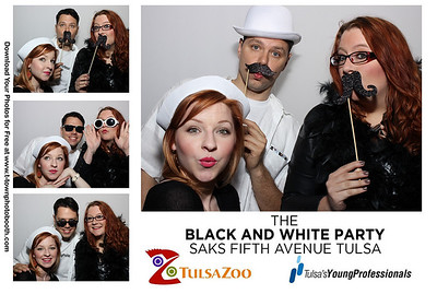 Saks Black and White Party 2014