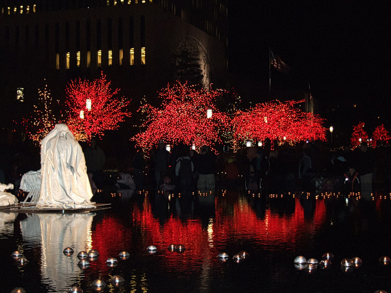 AOA Confluence Event- Christmas Lights at Temple Square, Salt Lake City