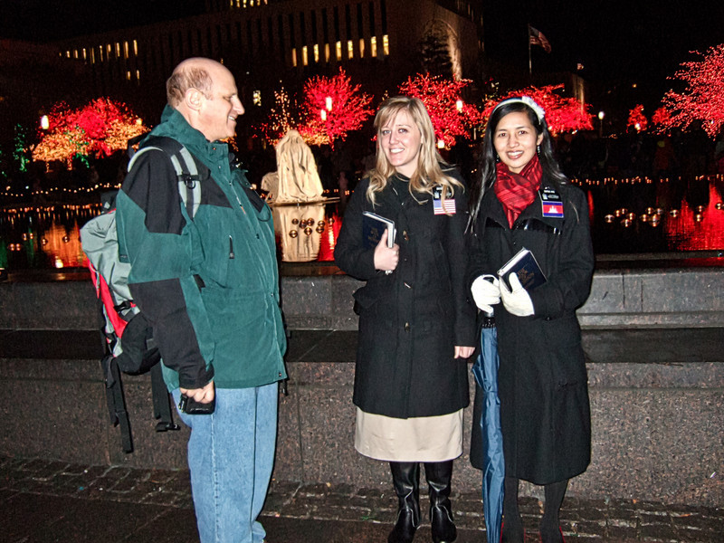 AOA Confluence Event - Mormon Missionaries at Temple Square, Salt Lake City